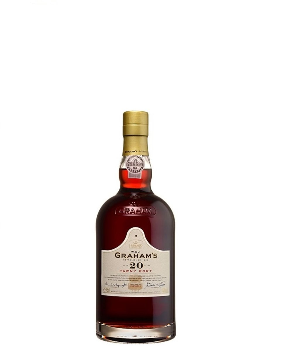 Grahams 20 years Tawny Port (WS 93, Decanter 95)