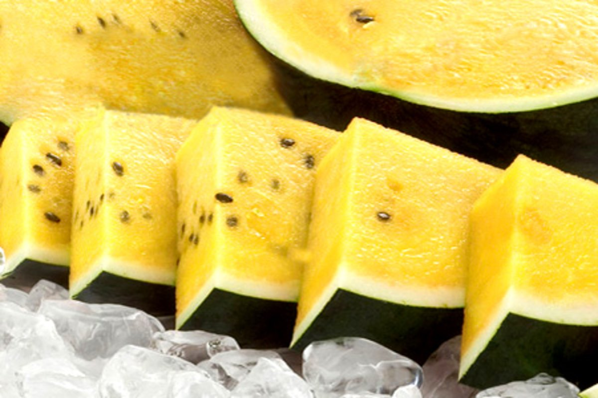 Full Case Tai Wan Yellow Fresh Melon ( 3-4 pcs/ 7.5kg approx.)