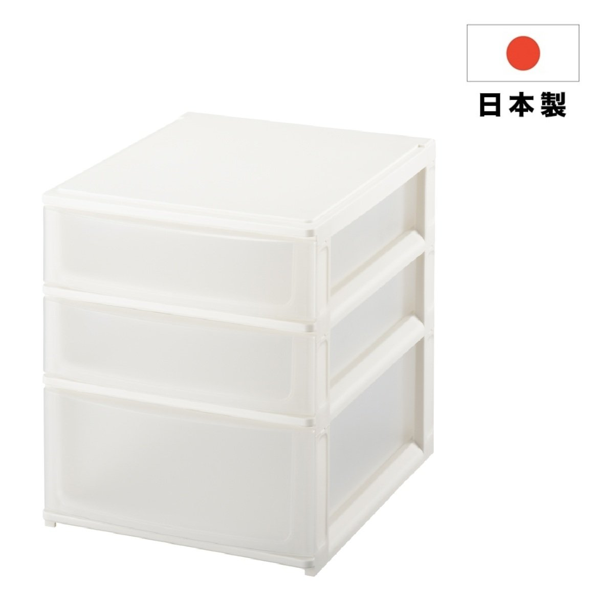 pos'deco 3 Layers Plastic Drawer - A4 Size
