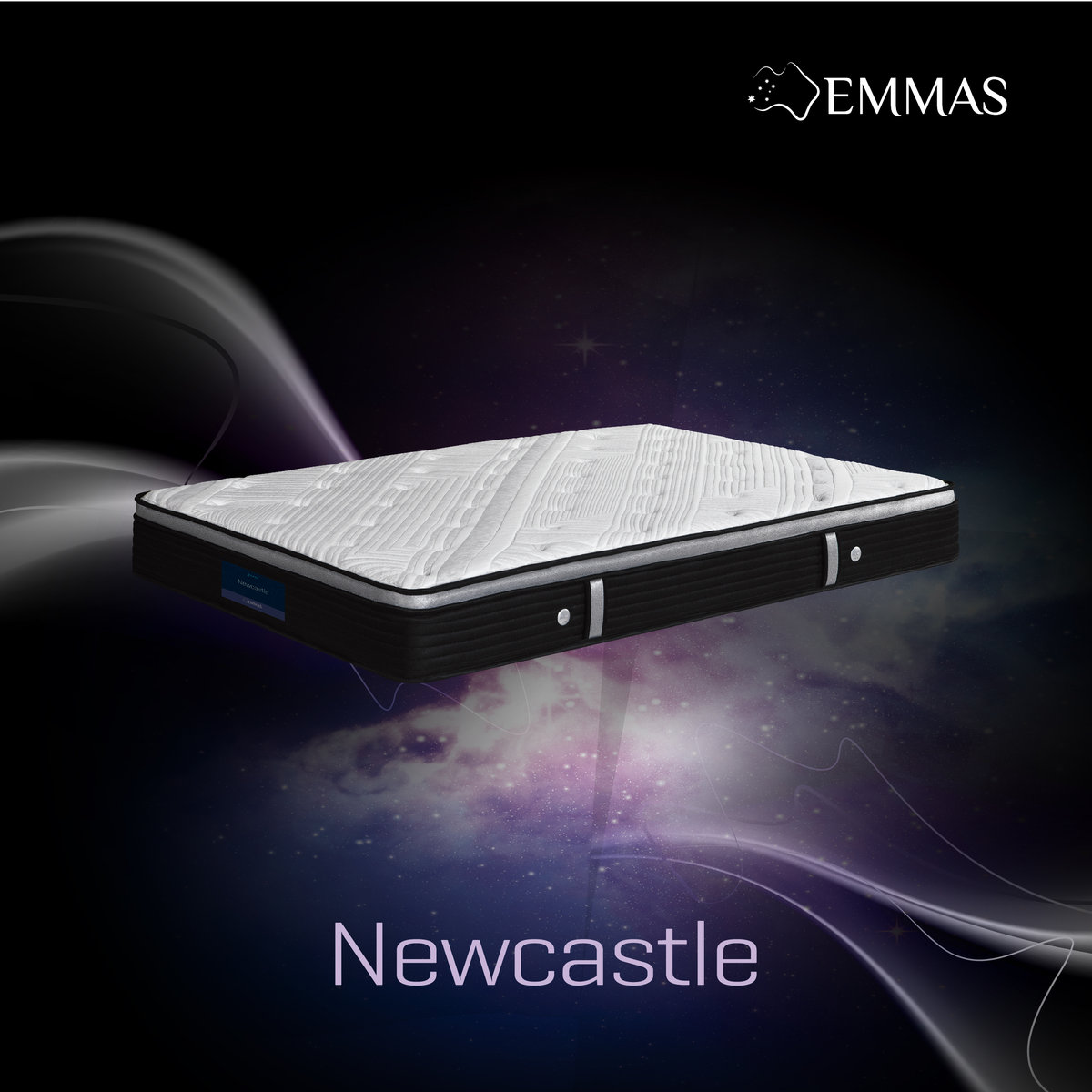 "Newcastle Mattress 60"" x 72""x 8.5"""