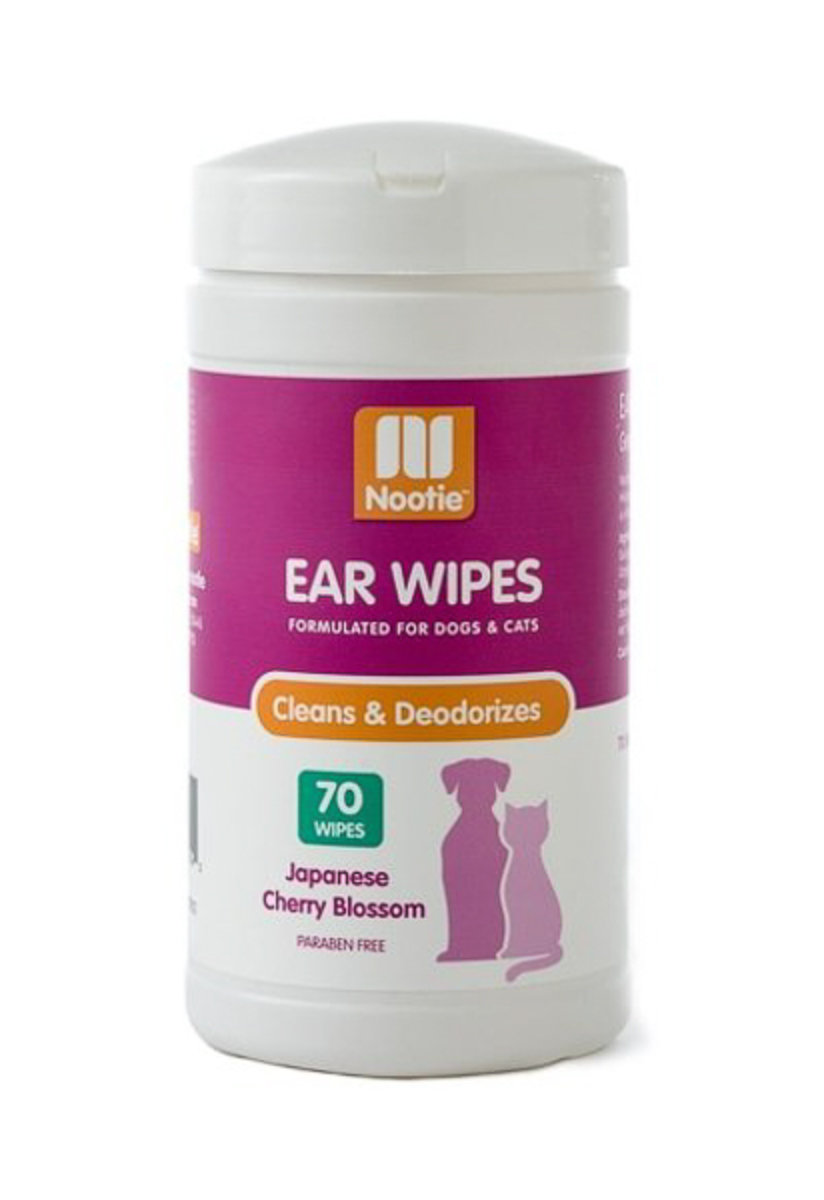 Nootie - Ear Wipes - Japanese Cherry Blossom 70ct