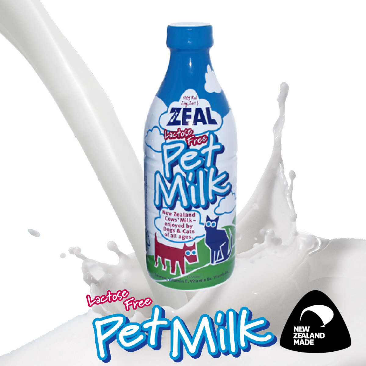 Natural Lactose Free Pet Milk