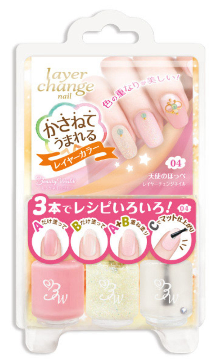 BW Nail Cocktail Layer Change (Angel Cheeks)