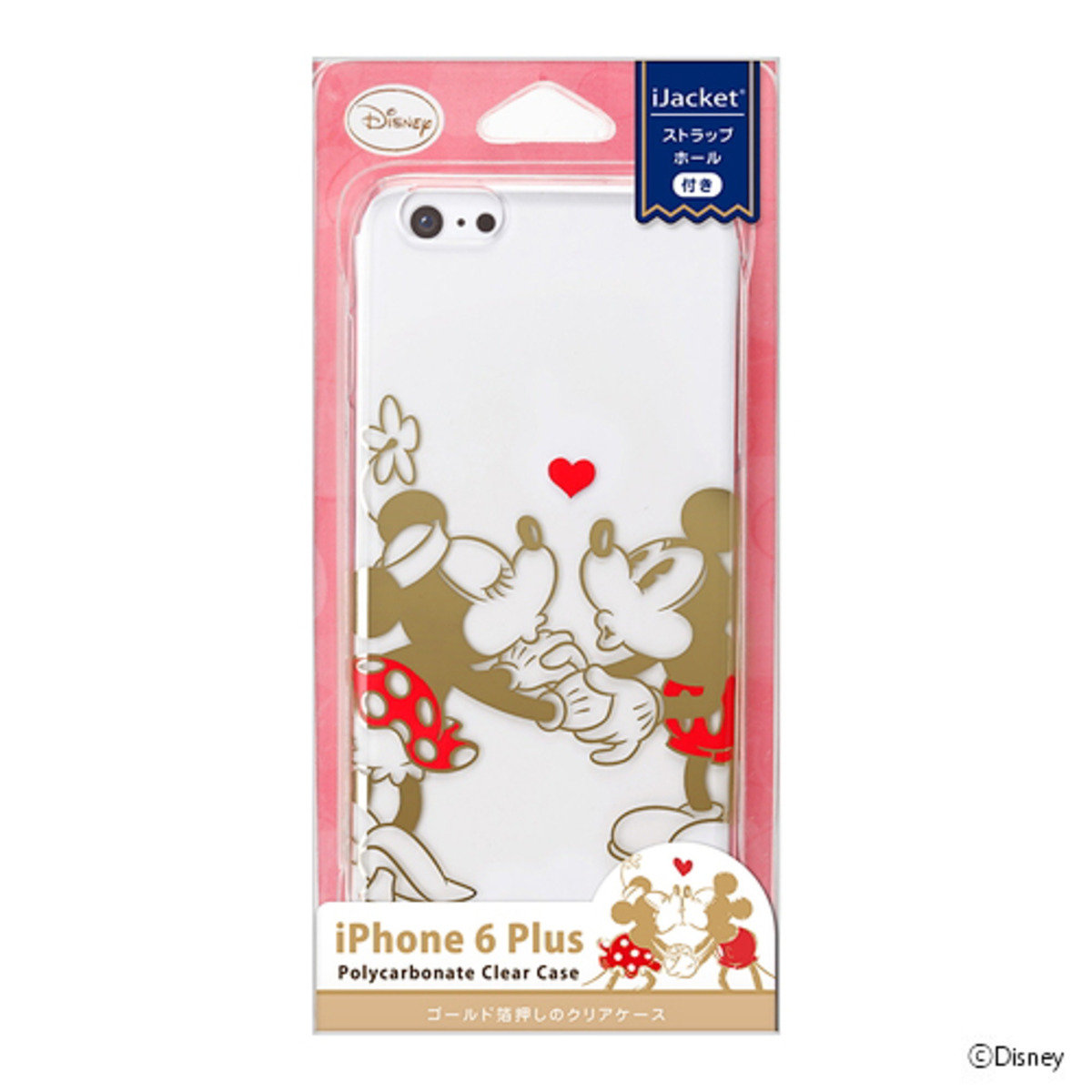 iPhone 6 Plus/ iPhone 6S Plus Disney Mickey&Minnie PC Phone Case DCS969MM