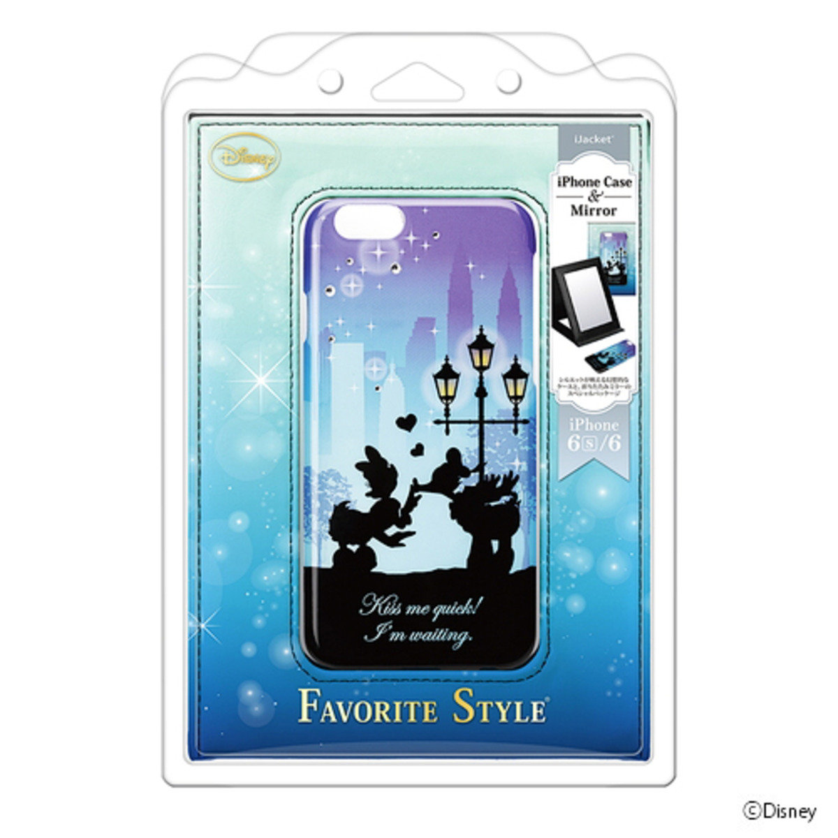 iPhone 6 / iPhone 6S Disney Donald / Daisy PC Mobile Phone Case DCS944DD