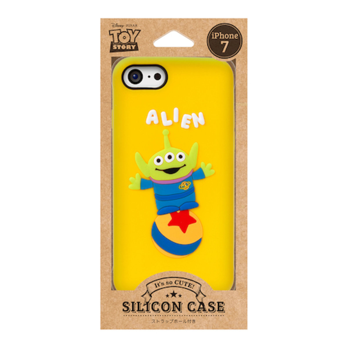 iPhone 7 / iPhone 8 Disney Alien Silicon Mobile Phone Case DCS136LGM