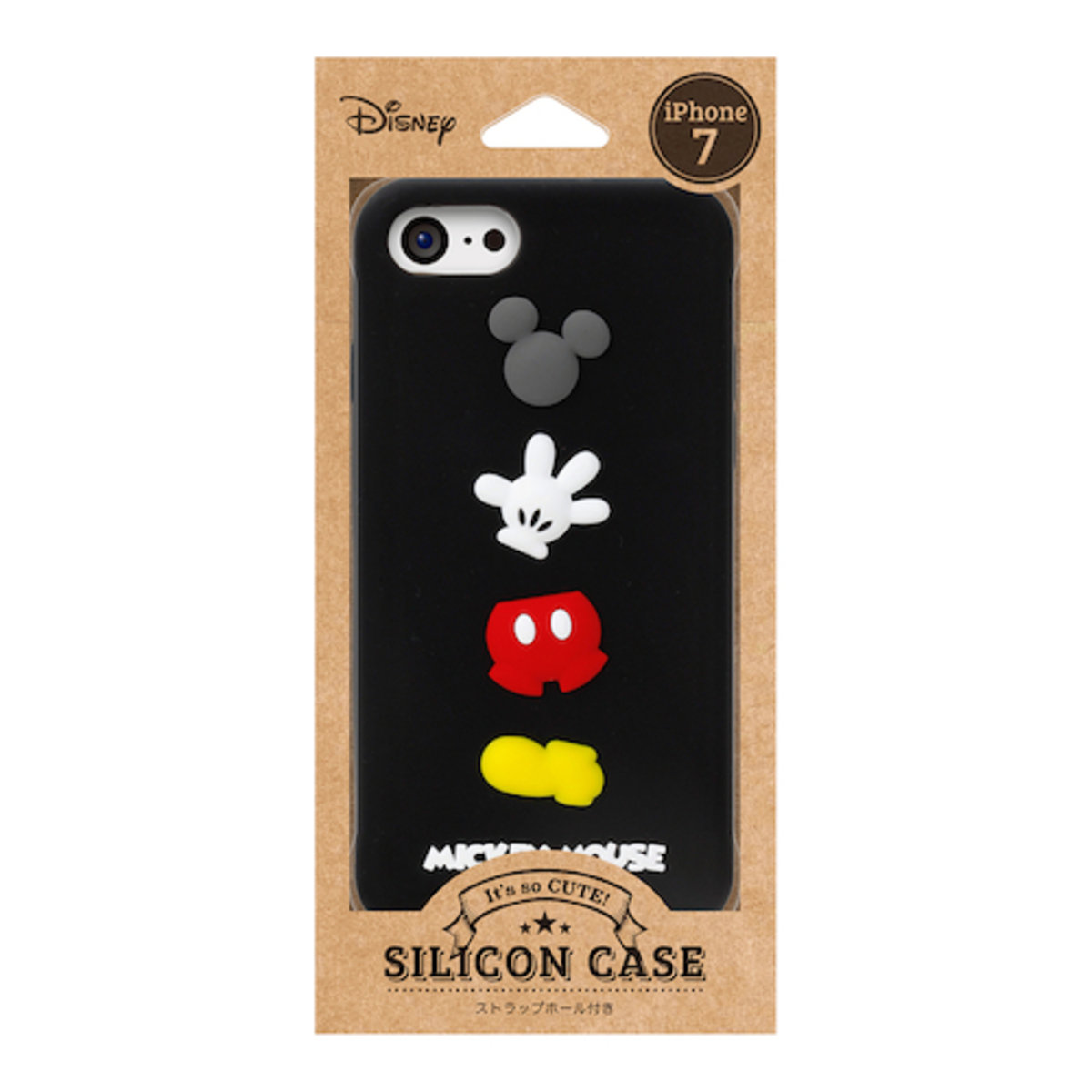 iPhone 7 / iPhone 8 Disney Mickey Silicon Phone Case DCS143MKY