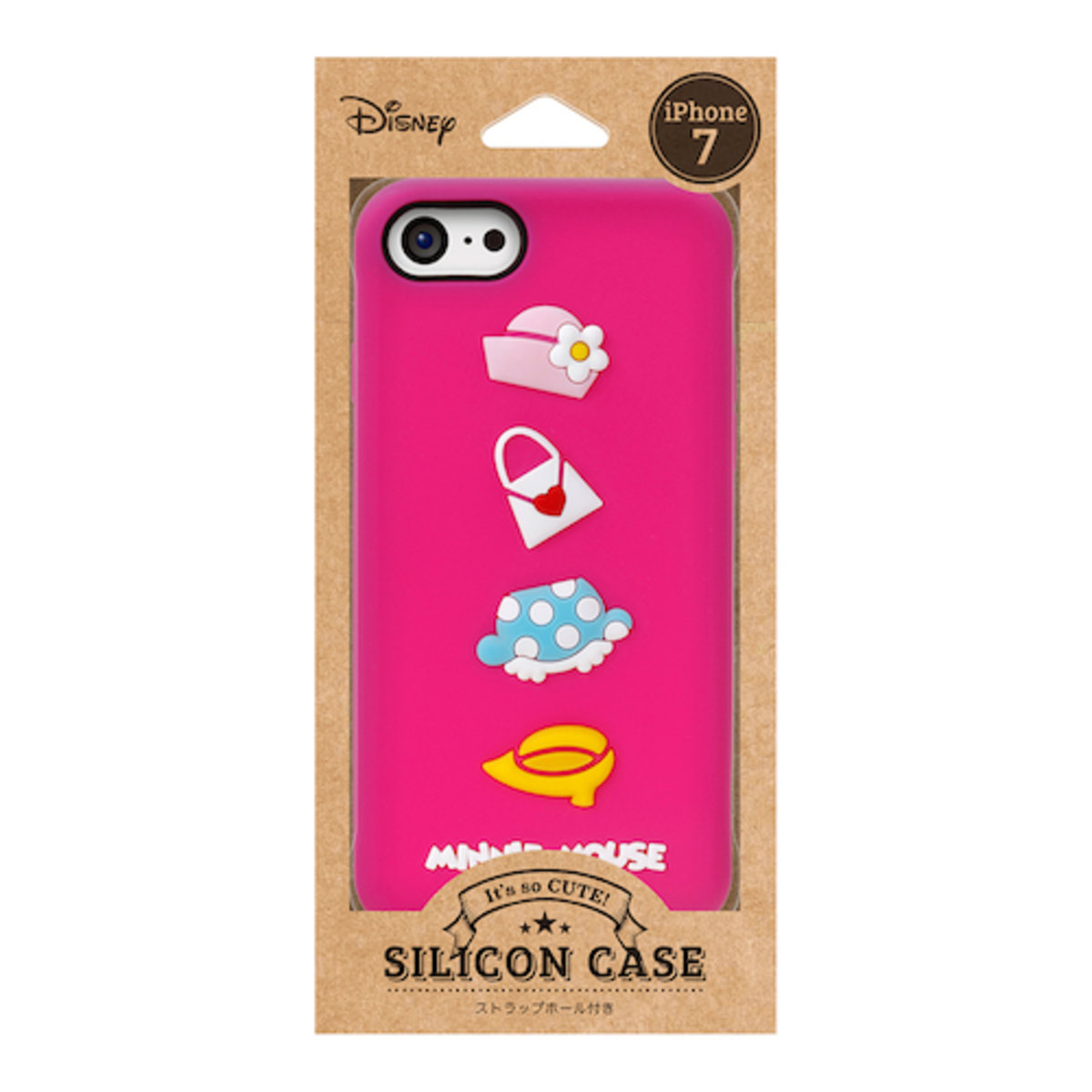 iPhone 7 / iPhone 8 Disney Minnie Silicon Mobile Phone Case DCS144MNE