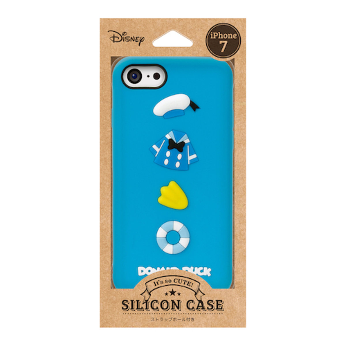 iPhone 7 / iPhone 8 Dsiney Donald Duck Silicon Phone Case DCS145DND