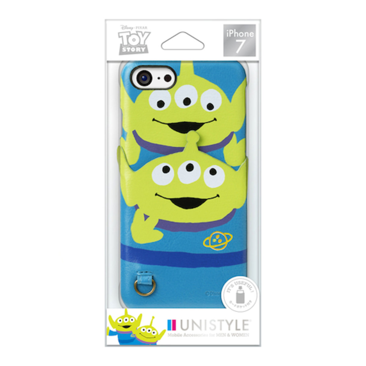 iPhone 7 / iPhone 8 Disney Alien PU Leather Card Pocket Case DCS170LGM