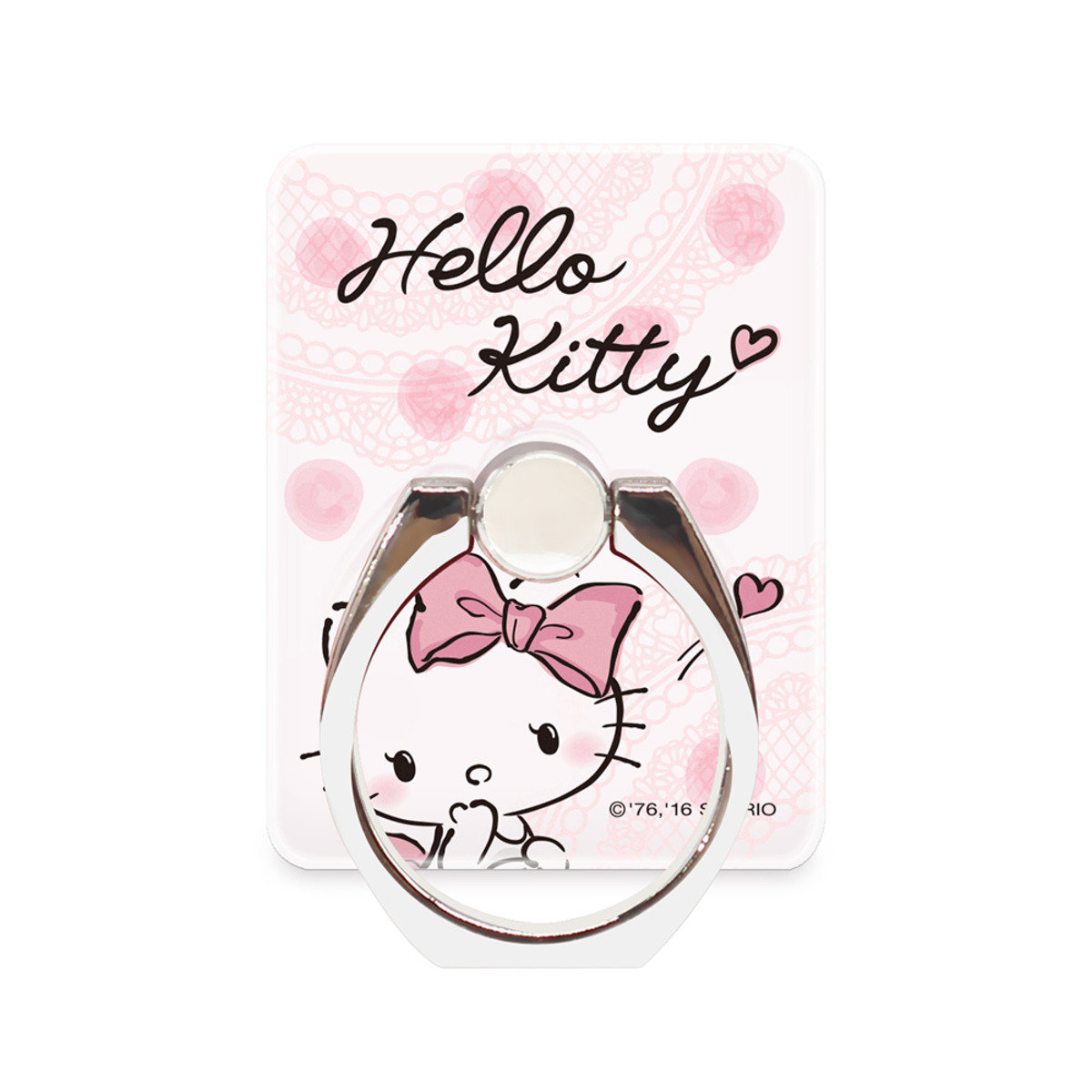 Hello Kitty Ring Grip/Stand Holder UPC 4713213350805