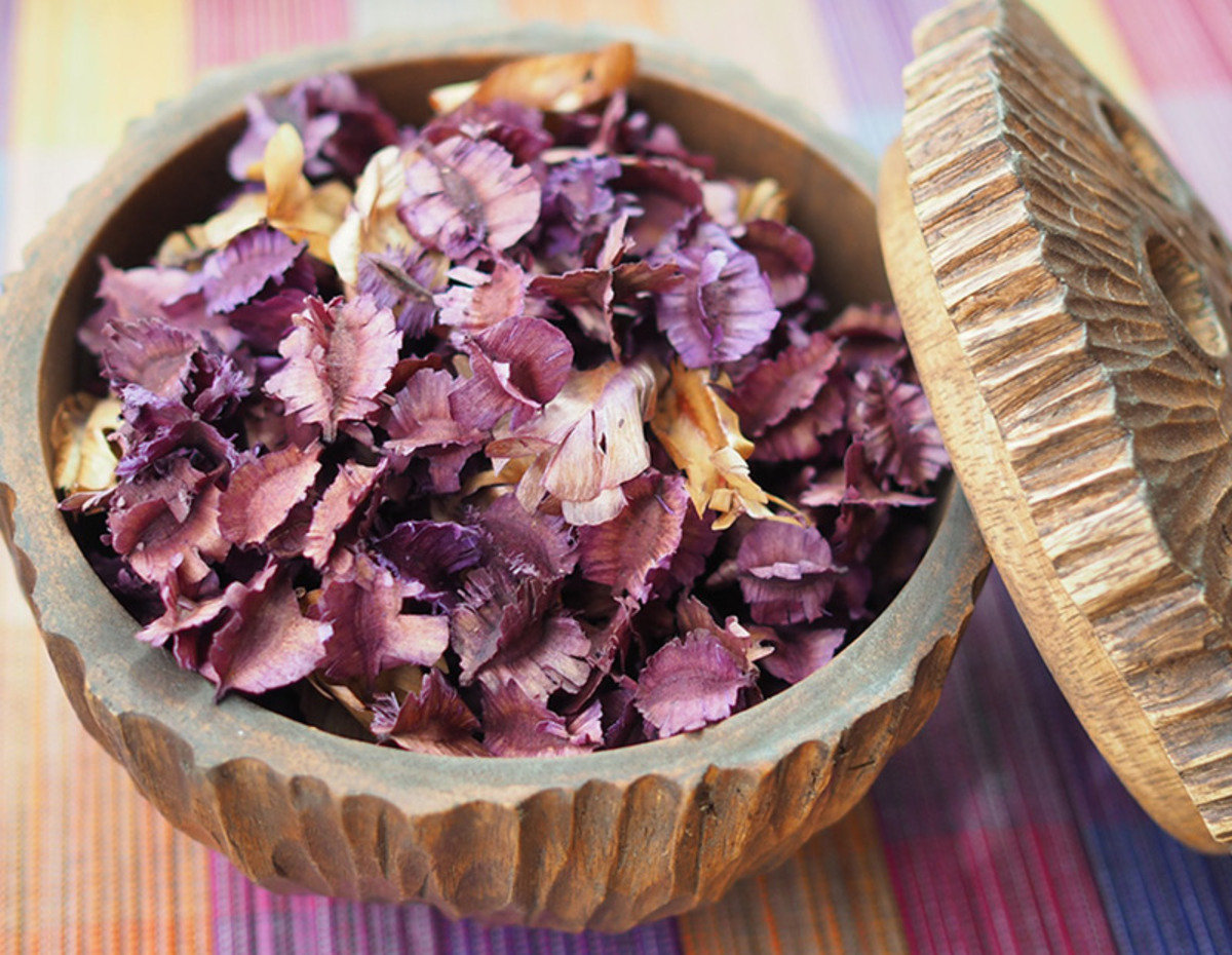 Thai Scented Dried Flowers (Lavender)