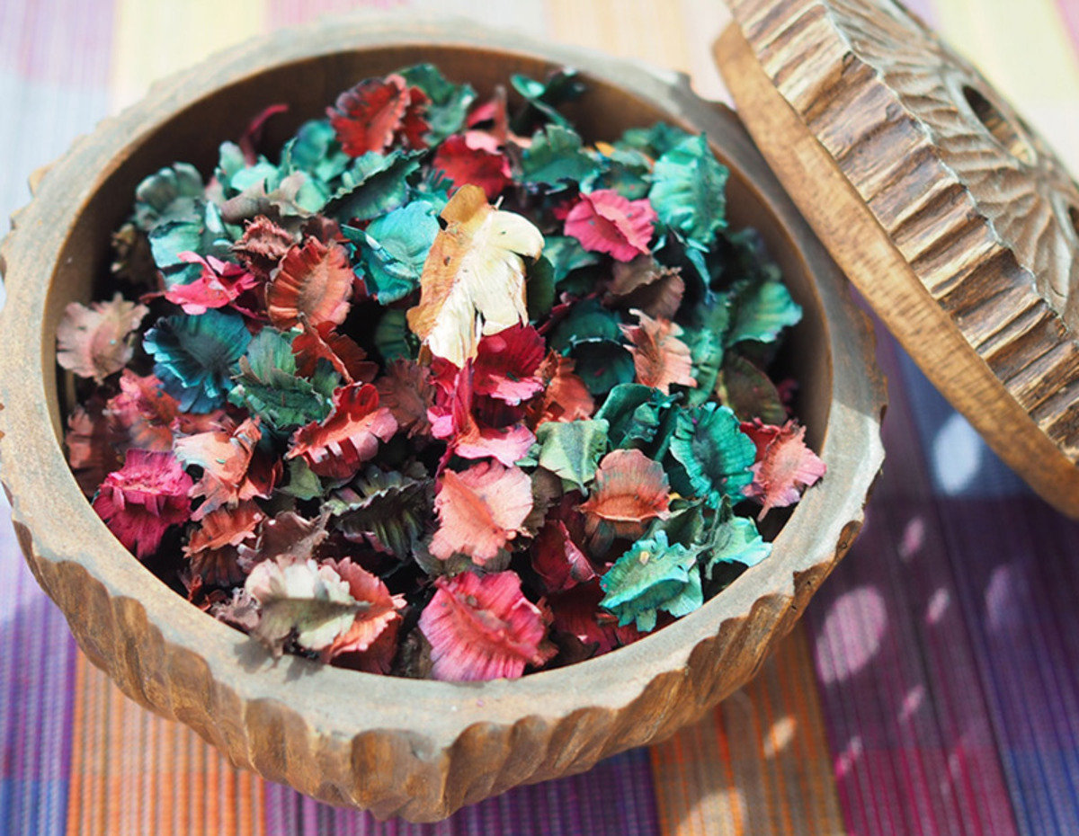 Thai Scented Dried Flowers (Cork Tree)