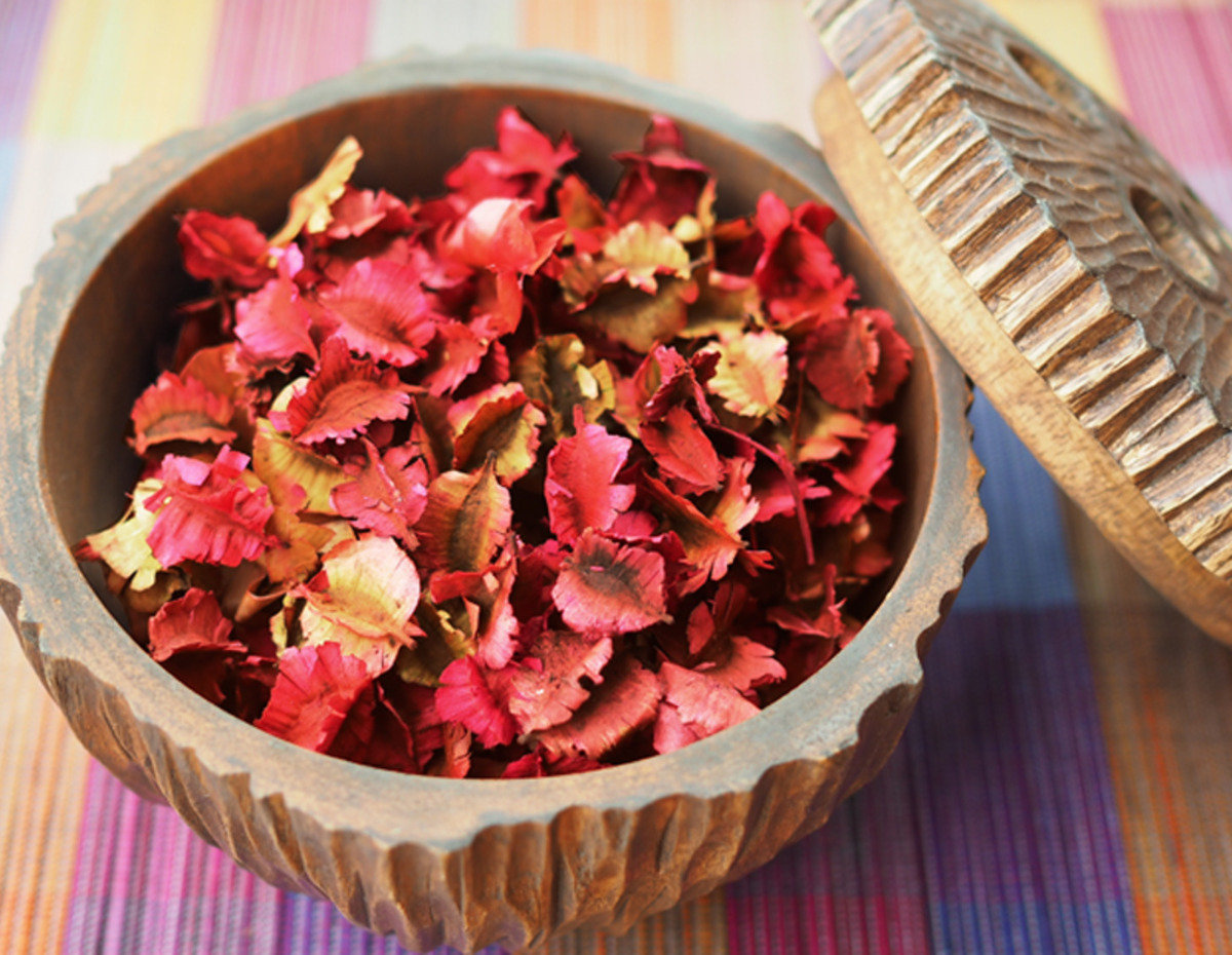 Thai Scented Dried Flowers (Rose)
