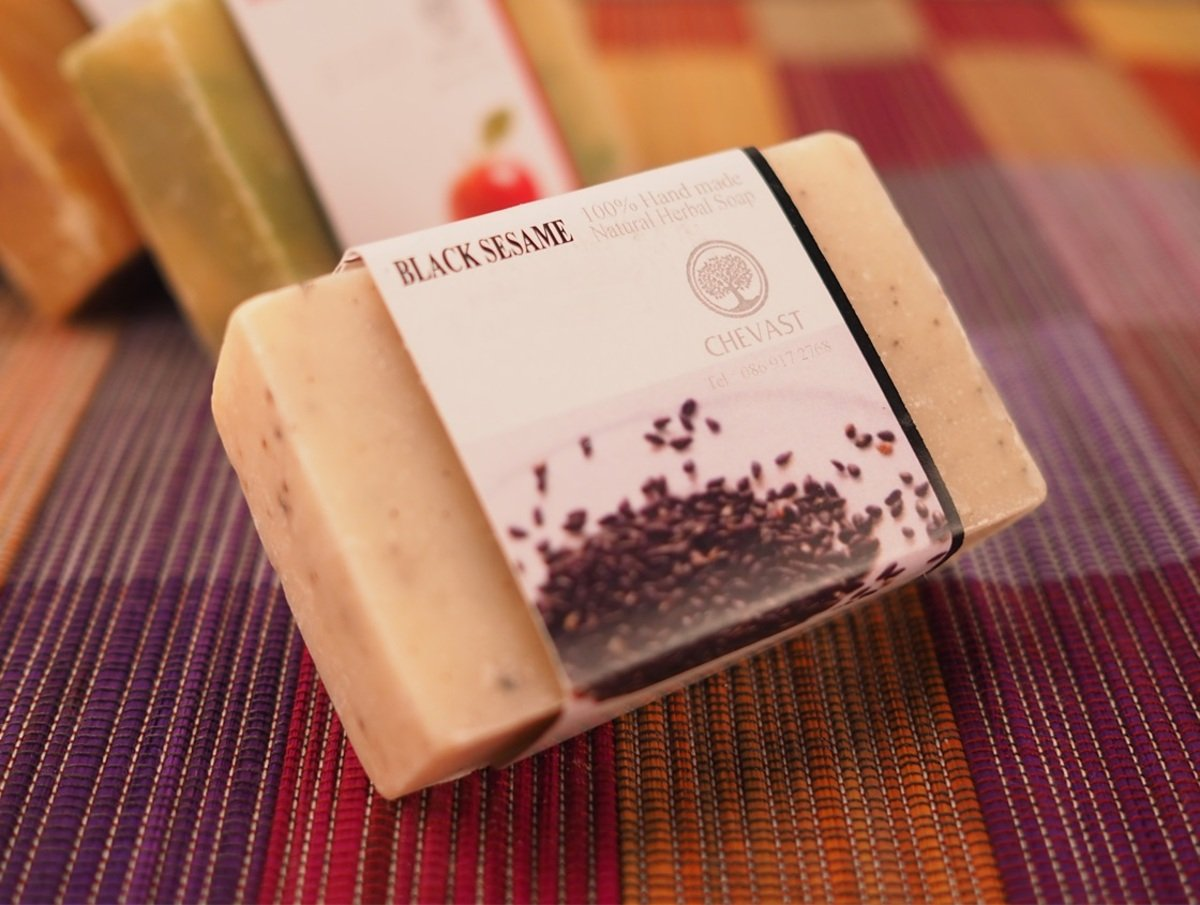 Thai Natural Herbal Soap (Sesame Scent)