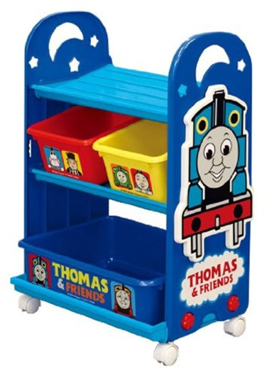 Thomas Kid Storage Rack with Container