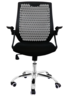 Office Chair with Adjustable Armrest(PS-131BK)