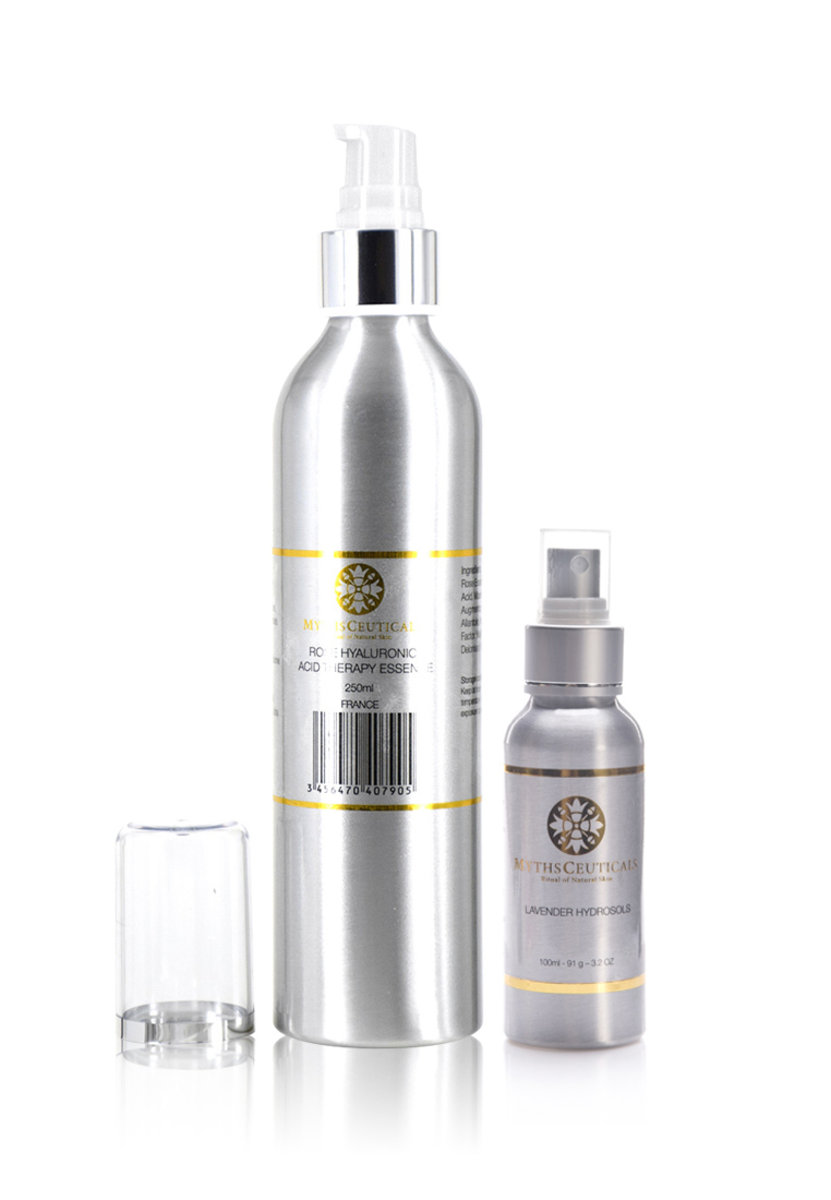 MC Nerve System Naturaltherapy Set ( Extral Large ROSE HYALURONIC ACID THERAPY ESSENCE / Lavender Hy