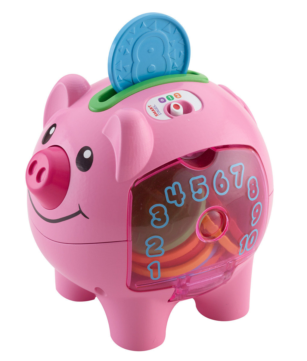 L&L Smart Stages Piggy Bank - QE/FR
