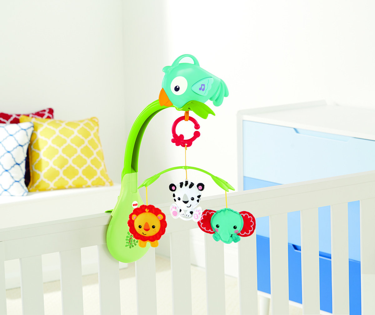 RAINFOREST FRIENDS 3-in-1 mobile