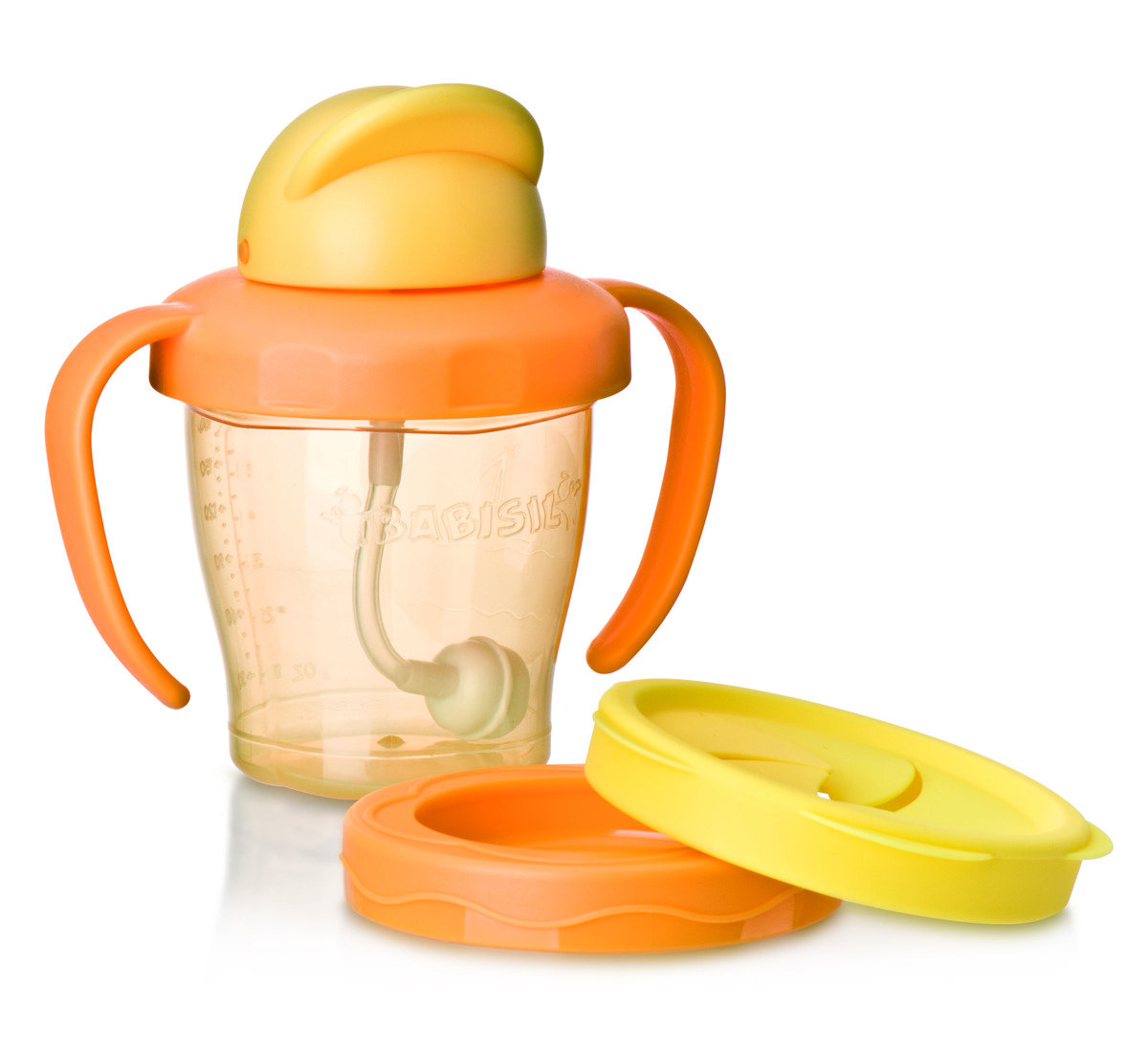 Babisil Adventurer Sport Drinking & Snack Cup Set - Orange