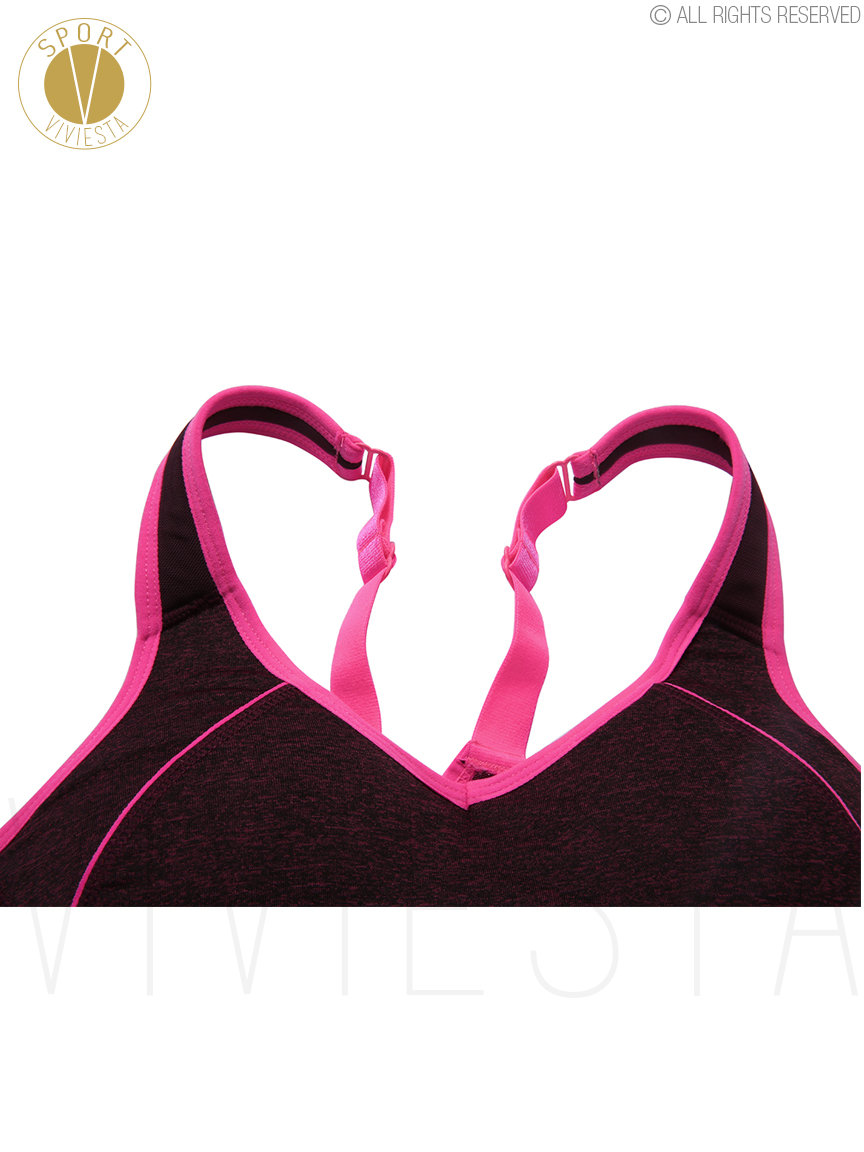 a4e31b62e61ac Photo. Description. DESCRIPTION  The fasten-in-back style sports bra ...