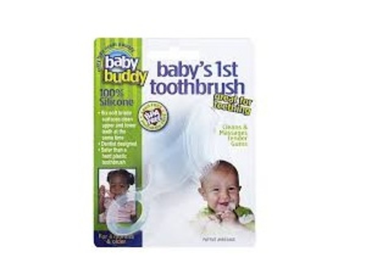 Baby's 1st Toothbrush 1ct CLEAR (Parallel Import goods)