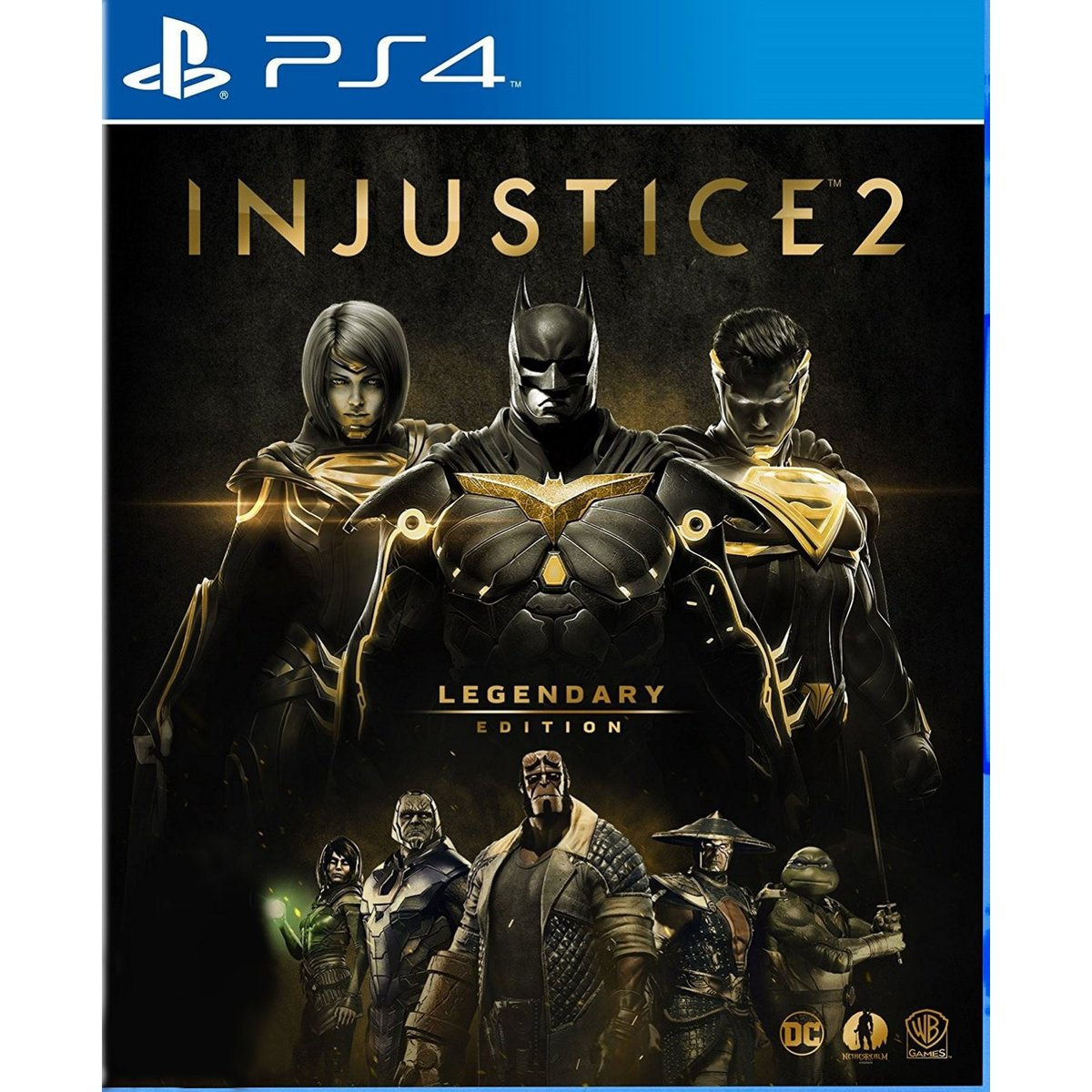 PS4 Game Injustice 2: Legendary Edition (English Subs)