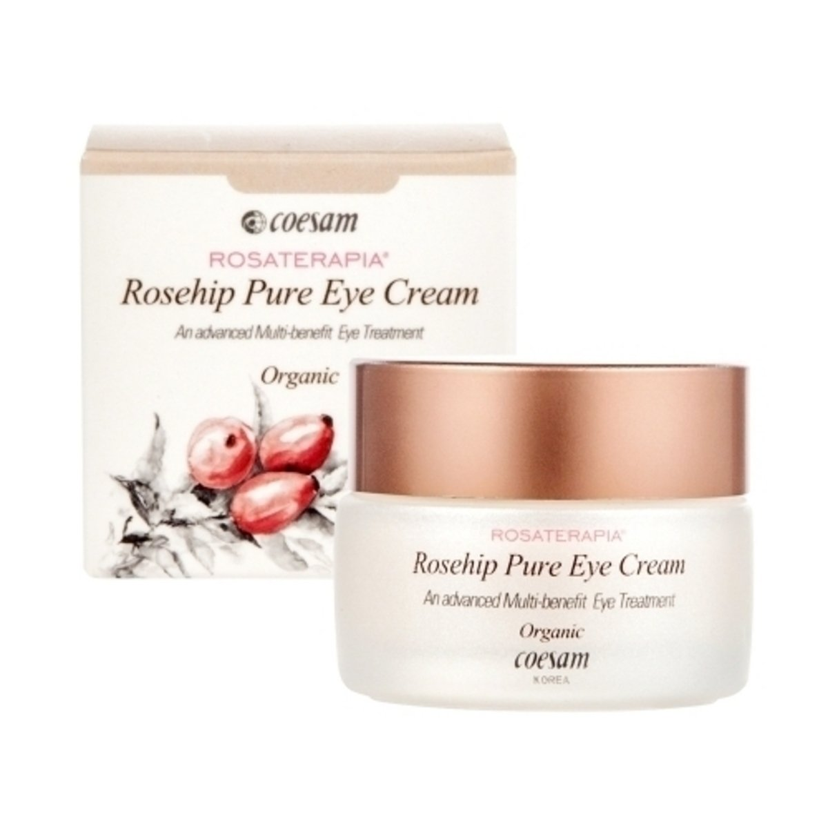 Rosehip Pure Eye Cream (Organic)