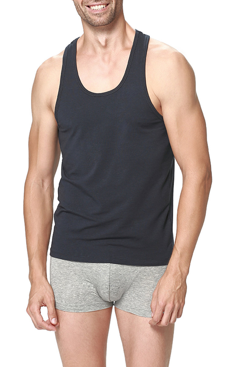 Cotton Modal Round-neck Tank Top