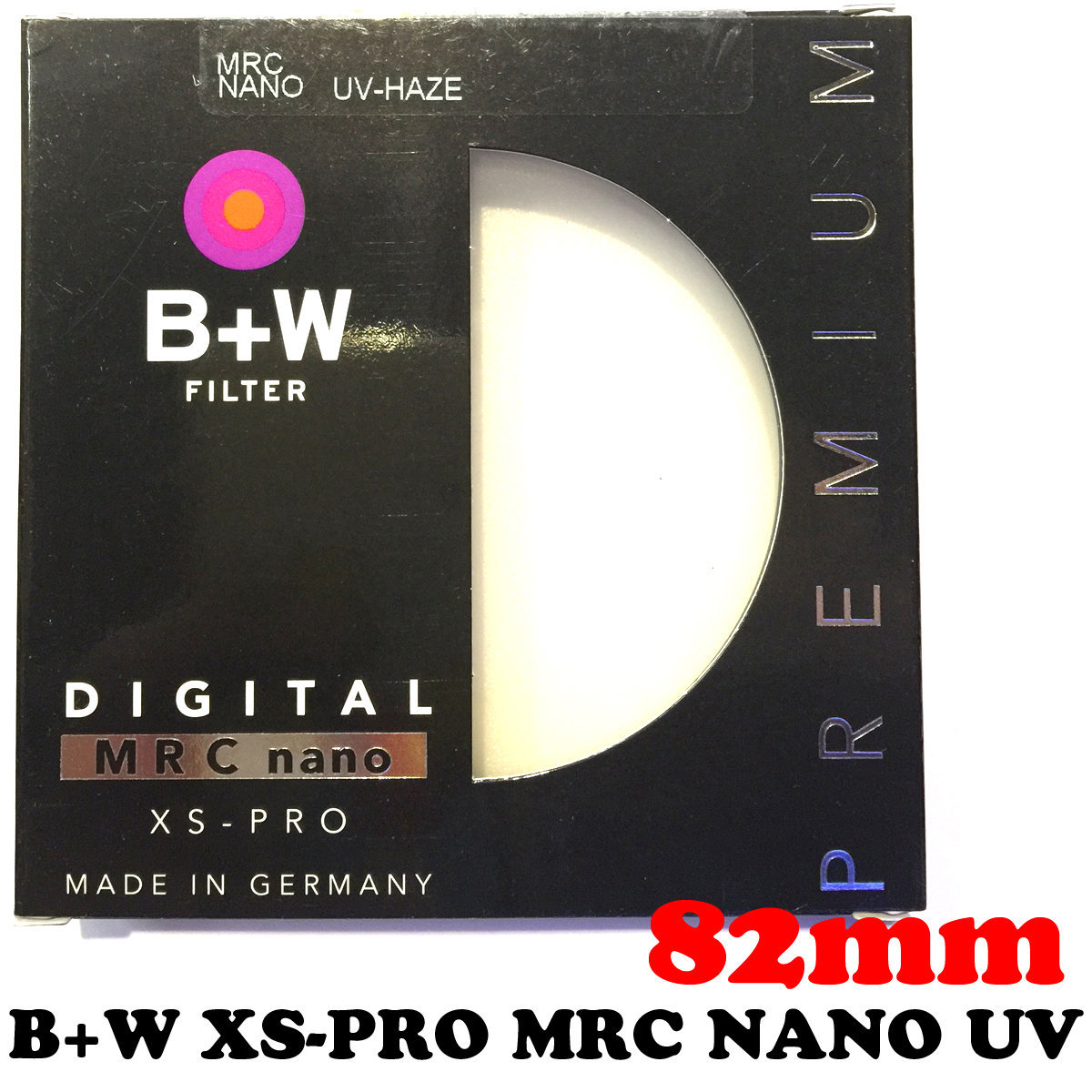 B+W 82mm XS-Pro MRC Nano UV Haze 010M Filter 1066126