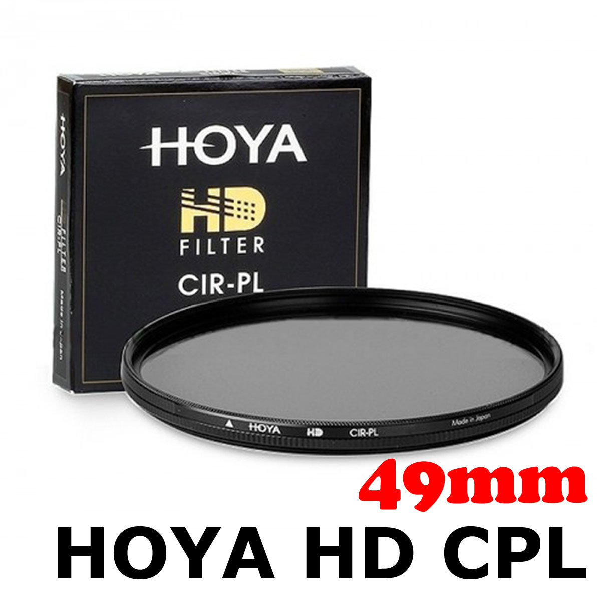 HD CPL 49mm Slim Filter Circular Polarizer