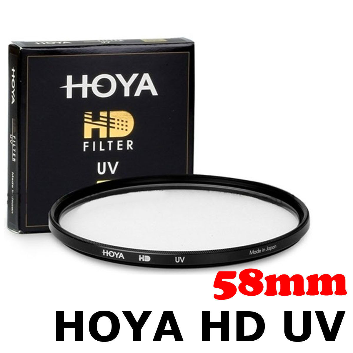HD UV 58mm Filter 超薄多層鍍膜防水UV保護濾鏡