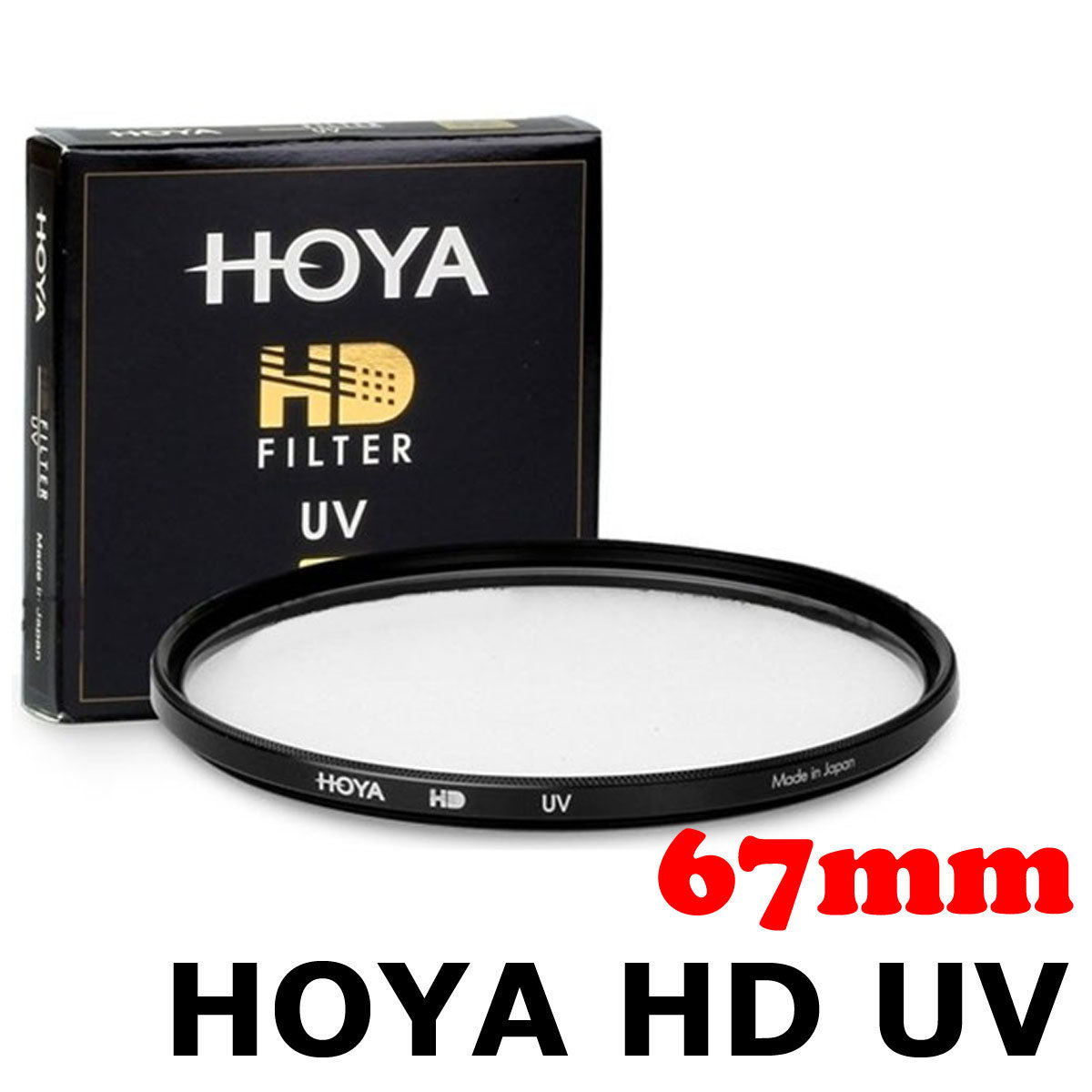 HD UV 67mm Filter 超薄多層鍍膜防水UV保護濾鏡