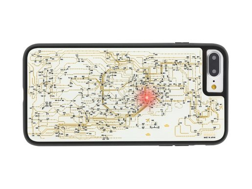 FLASH Tokyo Railway Electric Circuit iPhone7 Plus case White