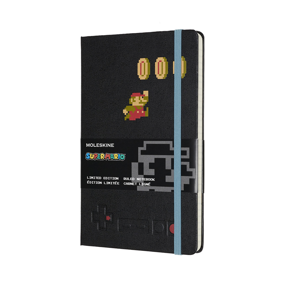 Moleskine Limited Edition Notebook Super Mario Large Ruled MARIO IN MOTION