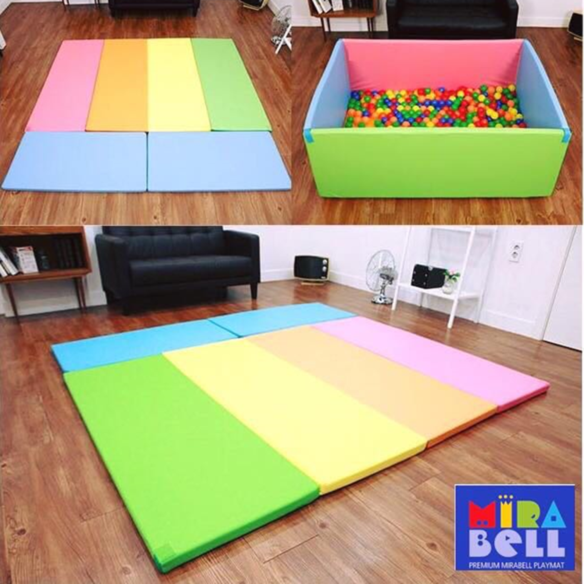 CANDY BUMPERMAT *GRAND SIZE