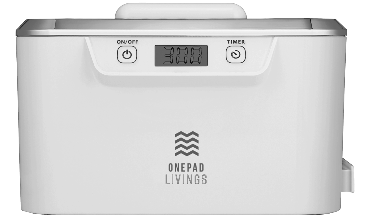 ULTRASONIC CLEANER 800ml S300 (White)