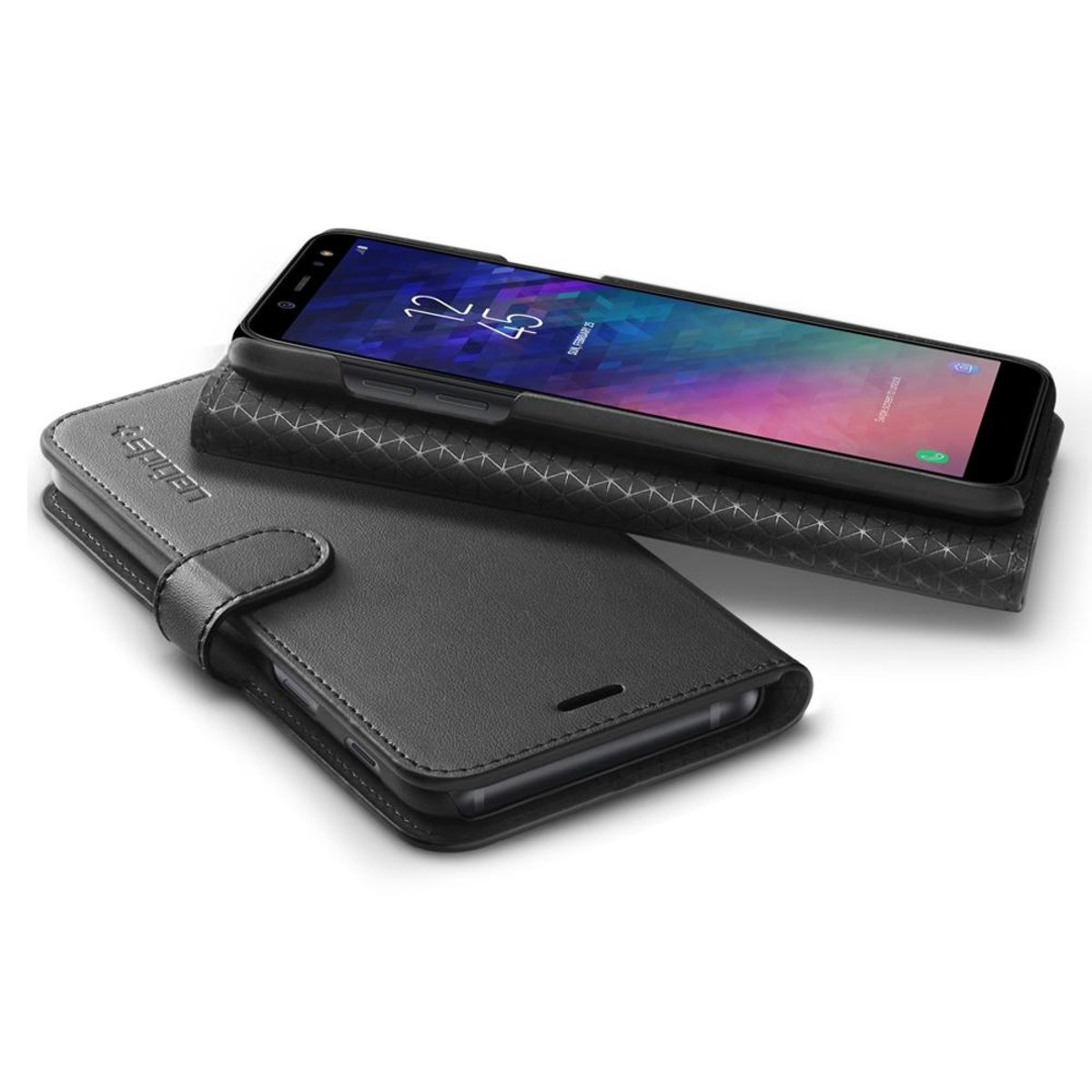 Galaxy A6 (2018) Case Wallet S 保護殼
