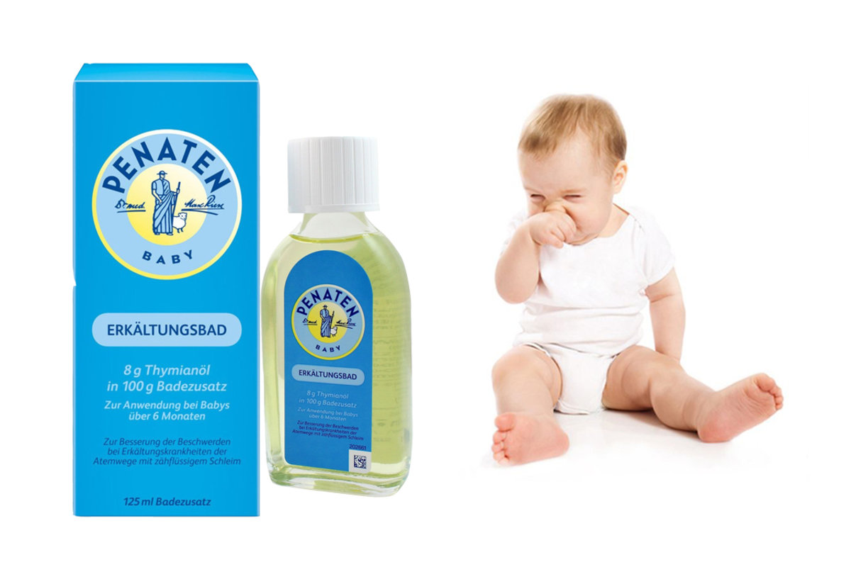 Penaten Flu and Cold Baby Oil Bath(2pc)