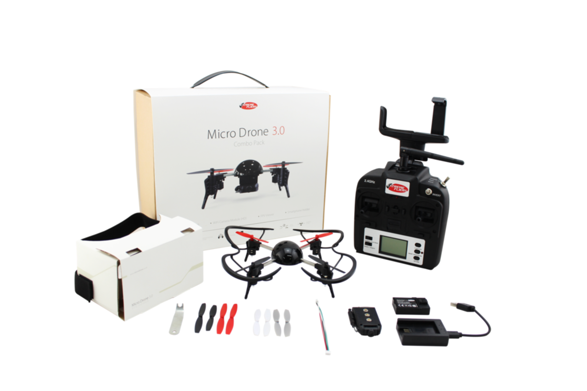 Micro Drone 3.0 COMBO PACK 無人機