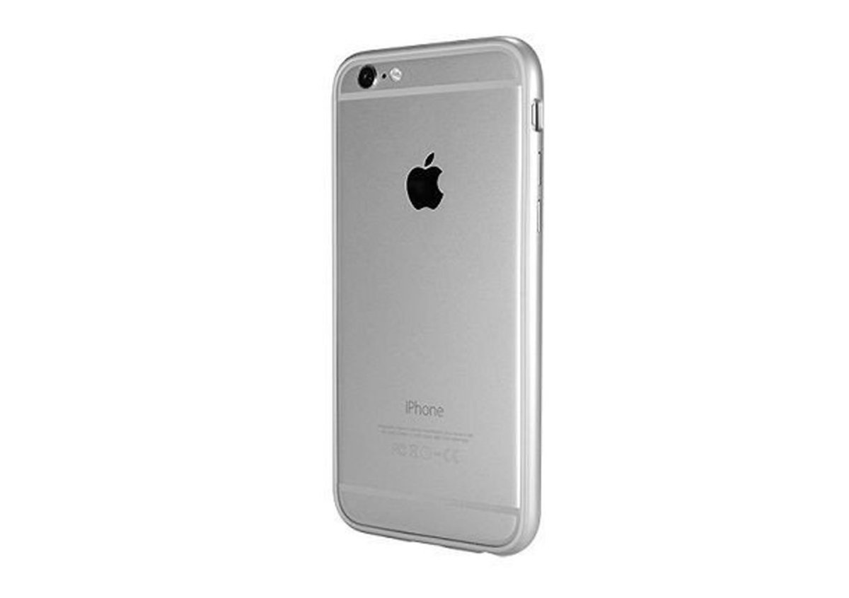 Power Support Arc Bumper 6 Plus/6S Plus Case Silver