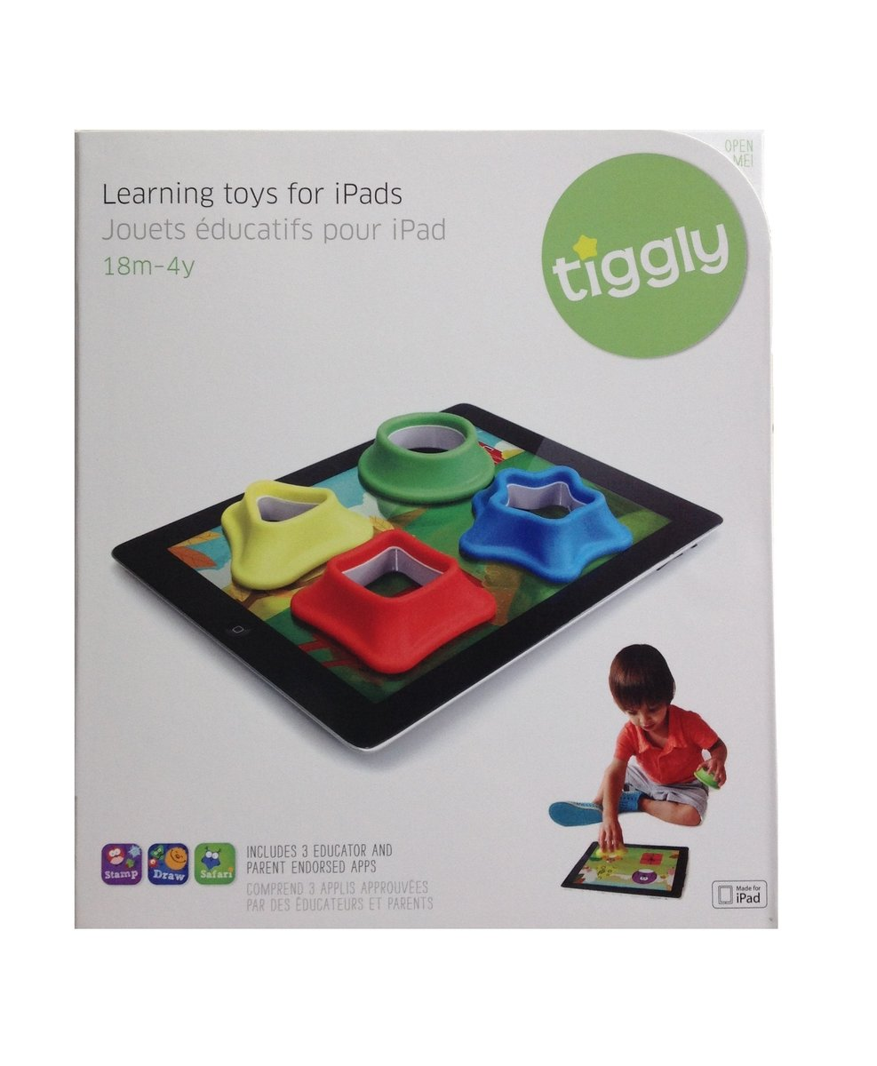 TigglyShapes Language Learning System For Tablets