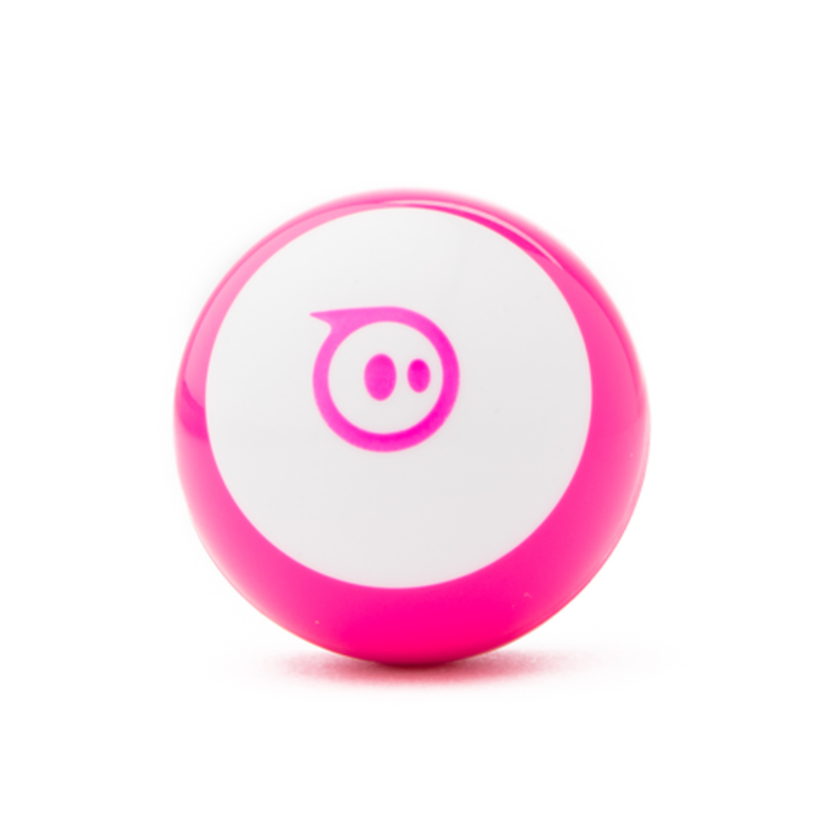 mini app-enabled robot ball Connected Toy Pink