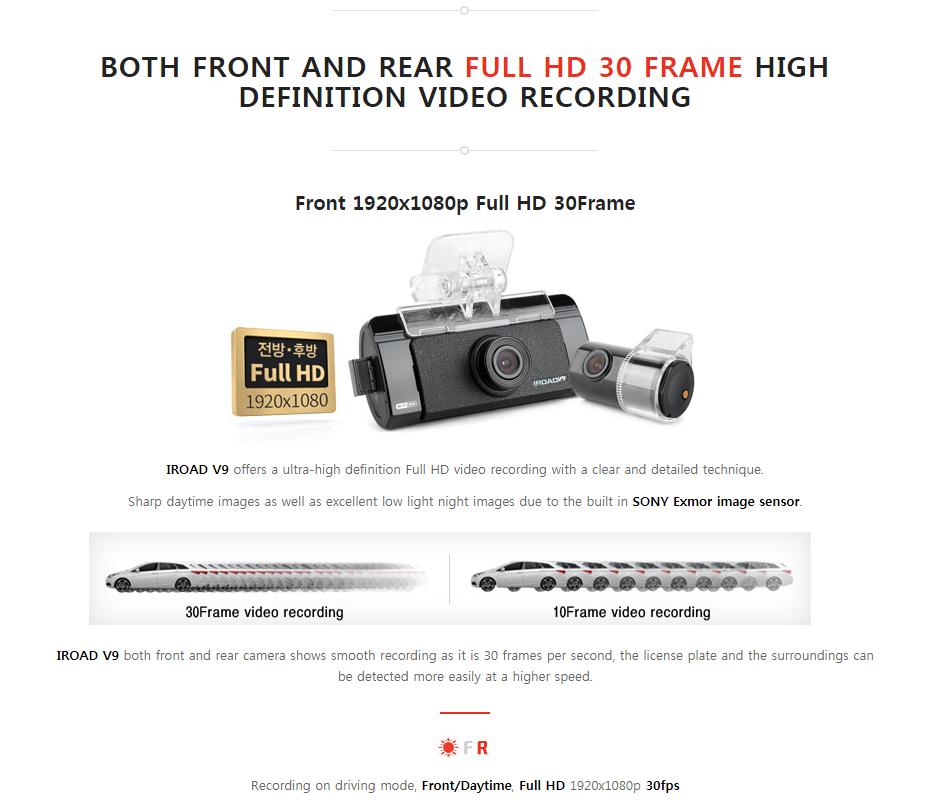 IROAD | V9S2 DASH CAM Update ADAS & NIGHT VISION Car Camcorder ...