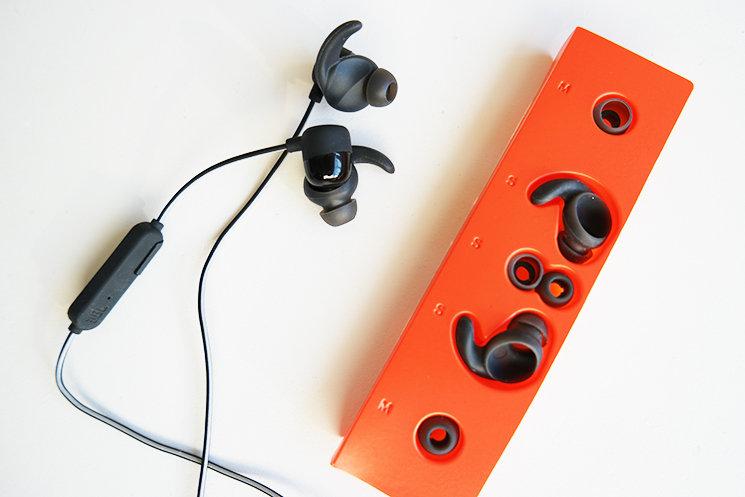 7ebd608ba4e JBL | JBL Reflect Mini BT Wireless Bluetooth Headphone Red ...