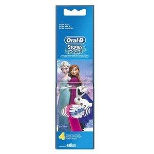 Oral-B 兒童原裝牙刷頭 (4枝裝) (冰雪奇緣1 / 冰雪奇緣2)