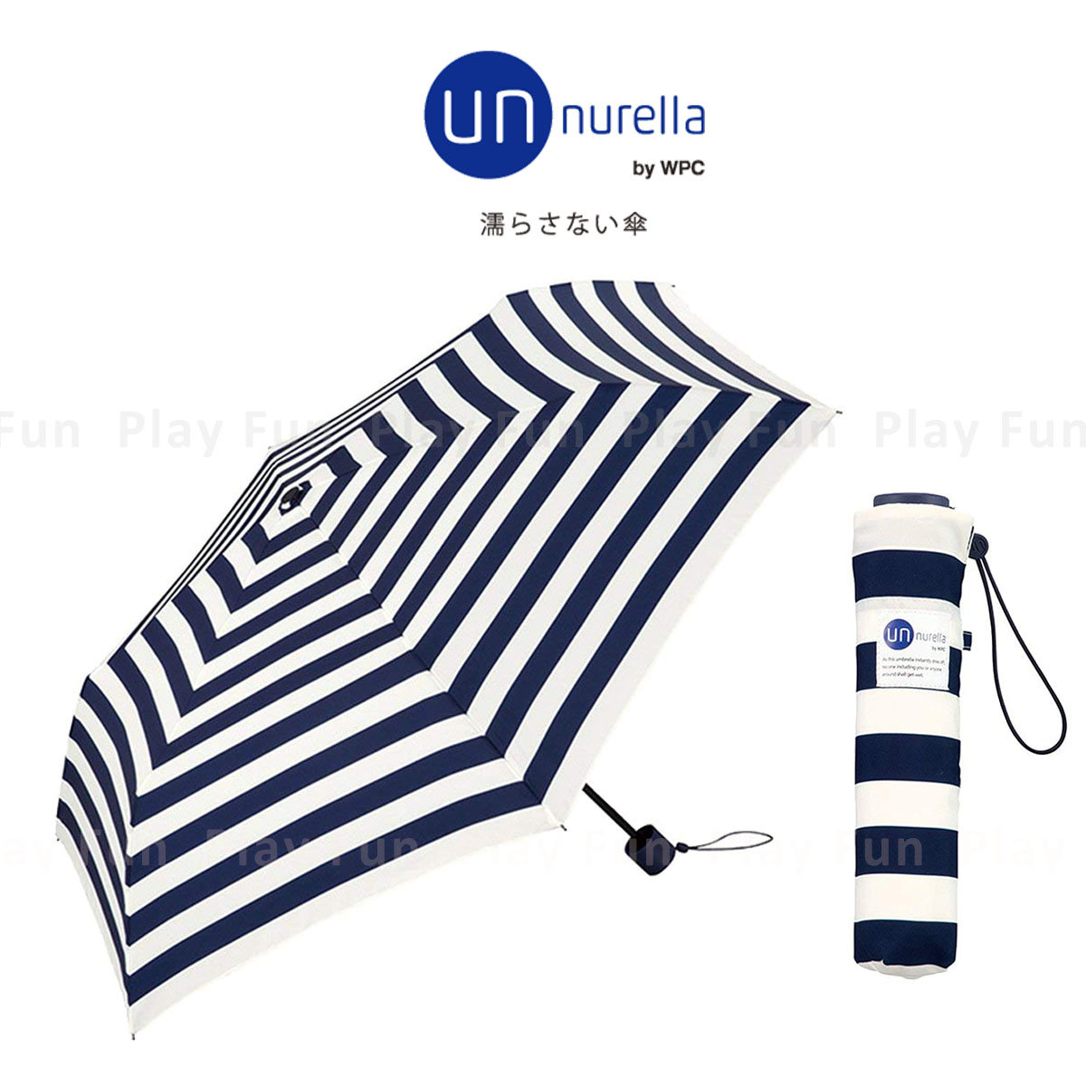 Unnurella Water-Folding Umbrella - Border (UM10034)