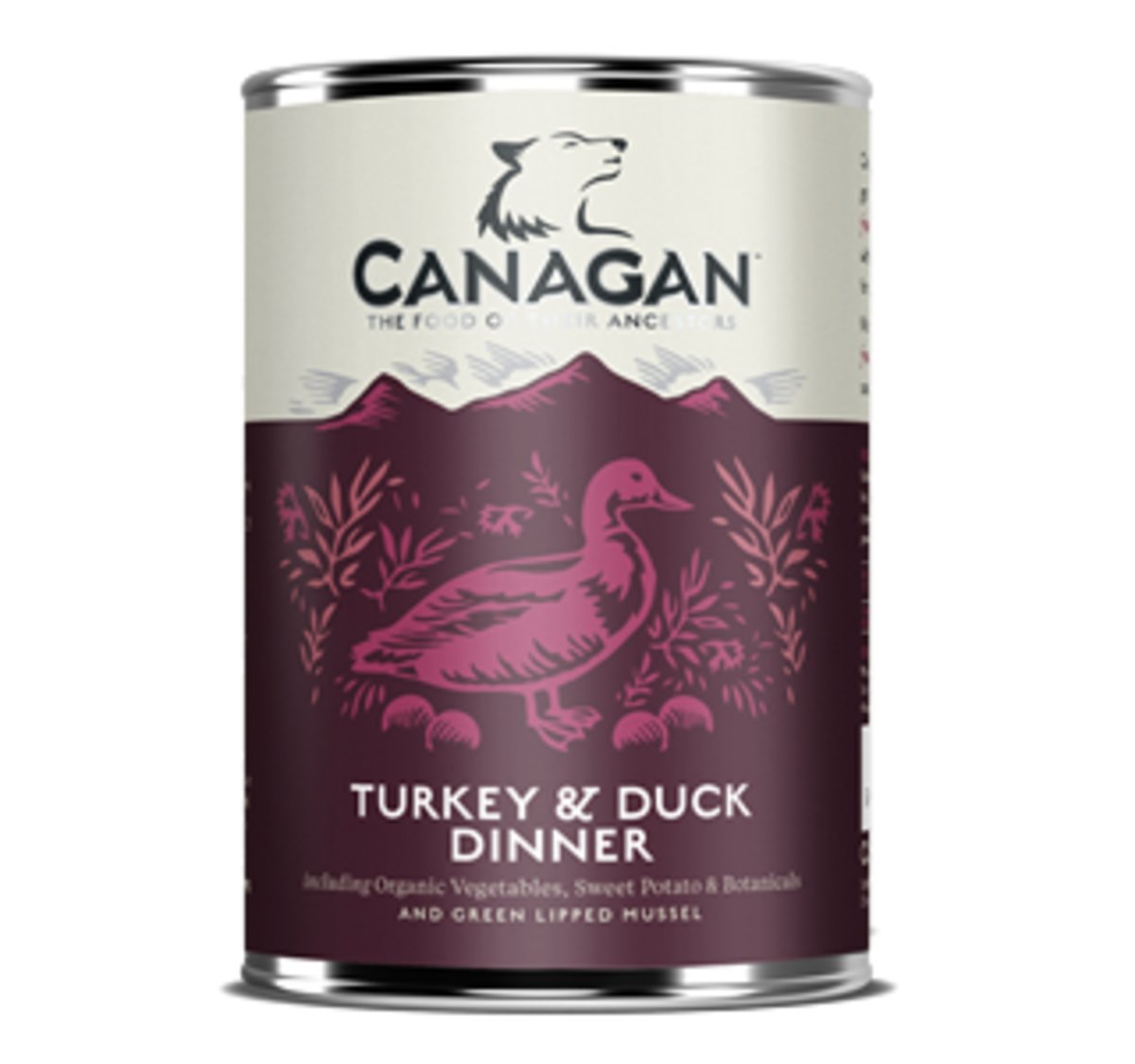 Canagan Dog Can - Turkey & Duck Dinner (400g x 6)