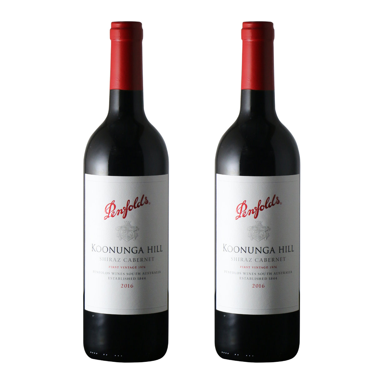 Koonunga Hill Shiraz Cab 2016,750ml x 2